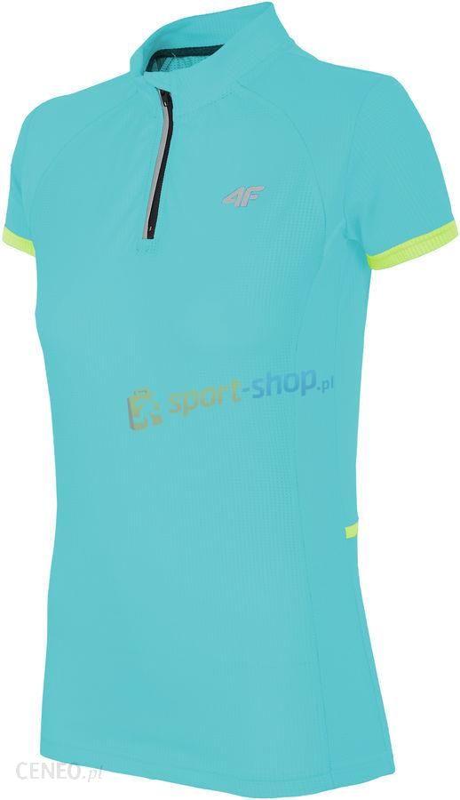 T shirt rowerowy damski RKD001 4F (turkusowy)