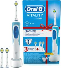 Szczoteczka elektryczna Oral-B Vitality 3D White - Opinie i ceny na ... 86e688eb0112
