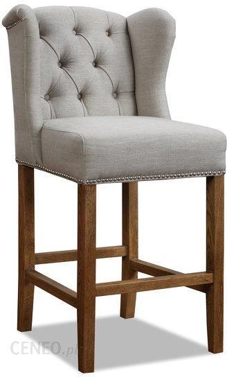 Miloo Home Krzesło Barowe Pikowane Lev 46x50x112 Ml2856
