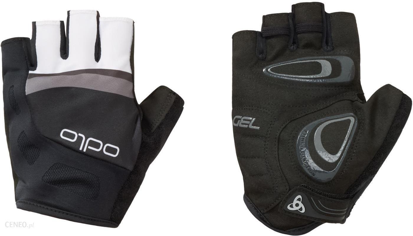 94e98ed3e56 Odlo Endurance Gloves Short Czarny Grafitowy Szary - Ceny i opinie ...