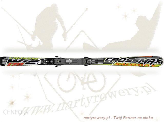 Narty Salomon Crossmax W12 + z12 B75 0910 Ceny i opinie