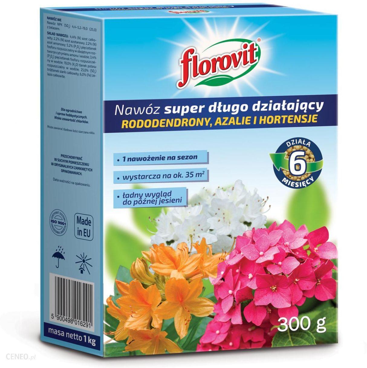 Nawoz Florovit Nawoz Dlugo Dzialajacy Rododendrony Ceny I Opinie Ceneo Pl