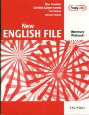 English File New Elementary Workbook with key+CD