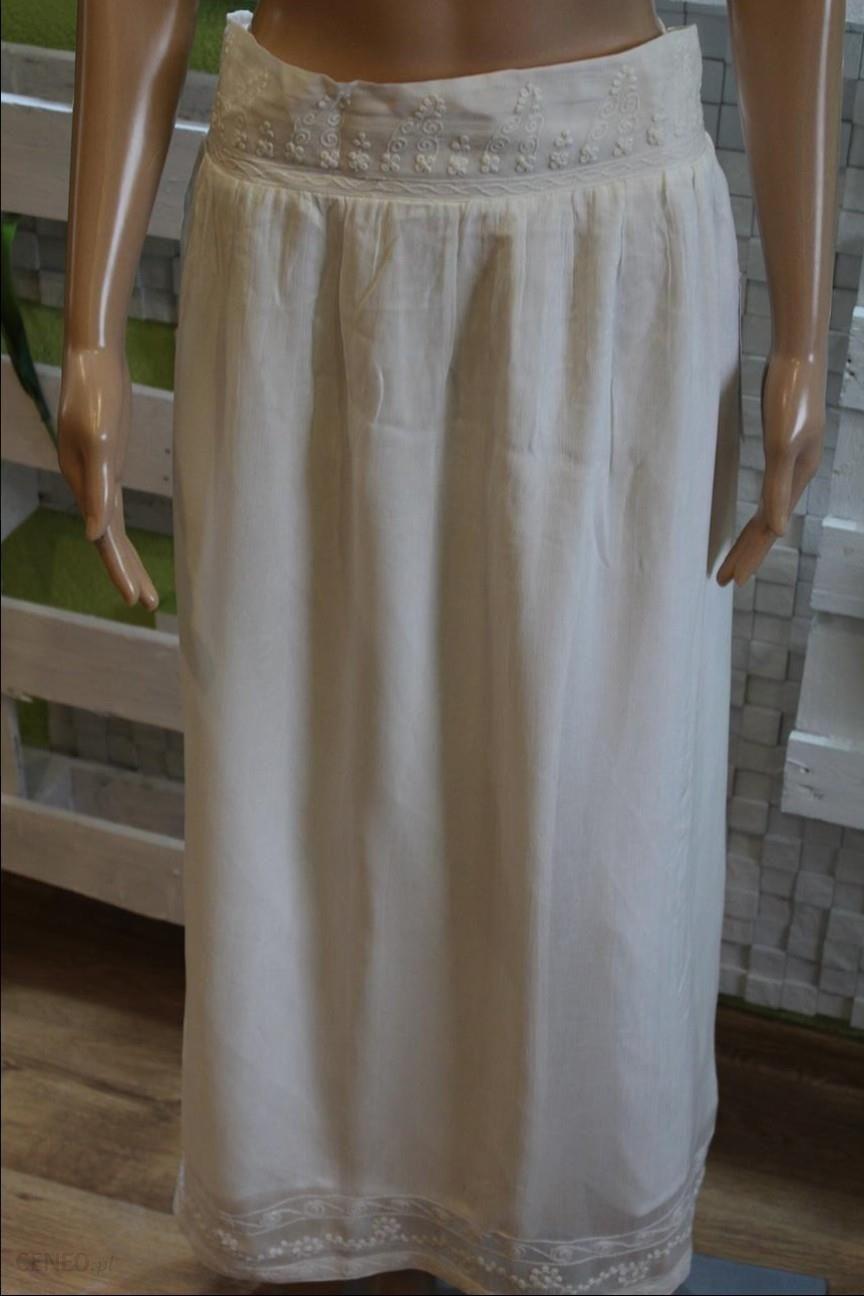 Spódnica Długa Biała Zara