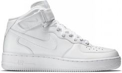 Buty Nike Air Force 1 MID 07 All White - 315123-111 - Ceny i opinie ... 987cfdadb7
