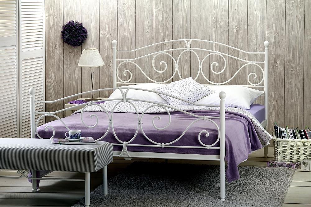 Artbed łóżko Metalowe Kute Sylvia Dwa Szczyty Dwuosobowe