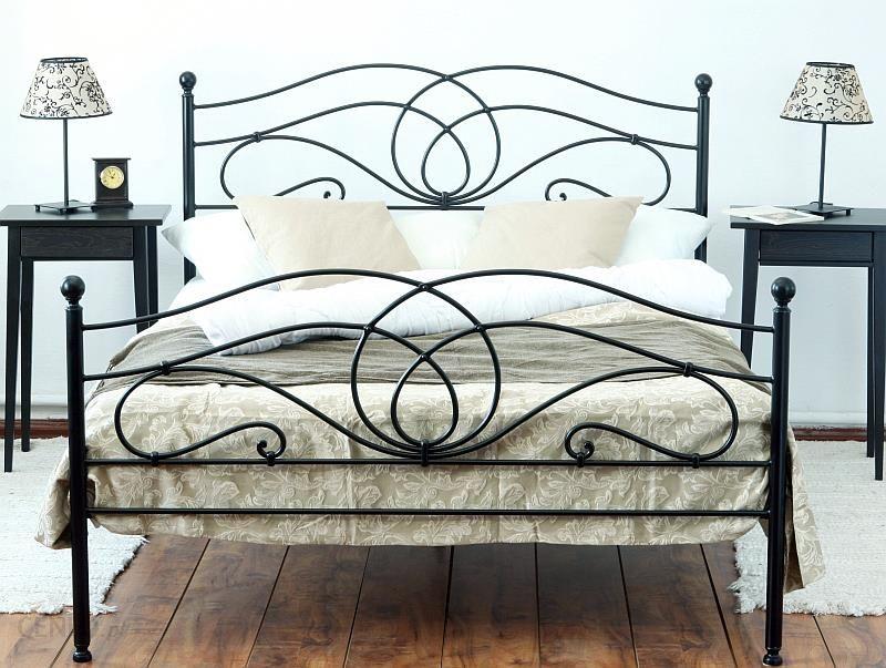 Artbed łóżko Kute Metalowe Iris Dwa Szczyty