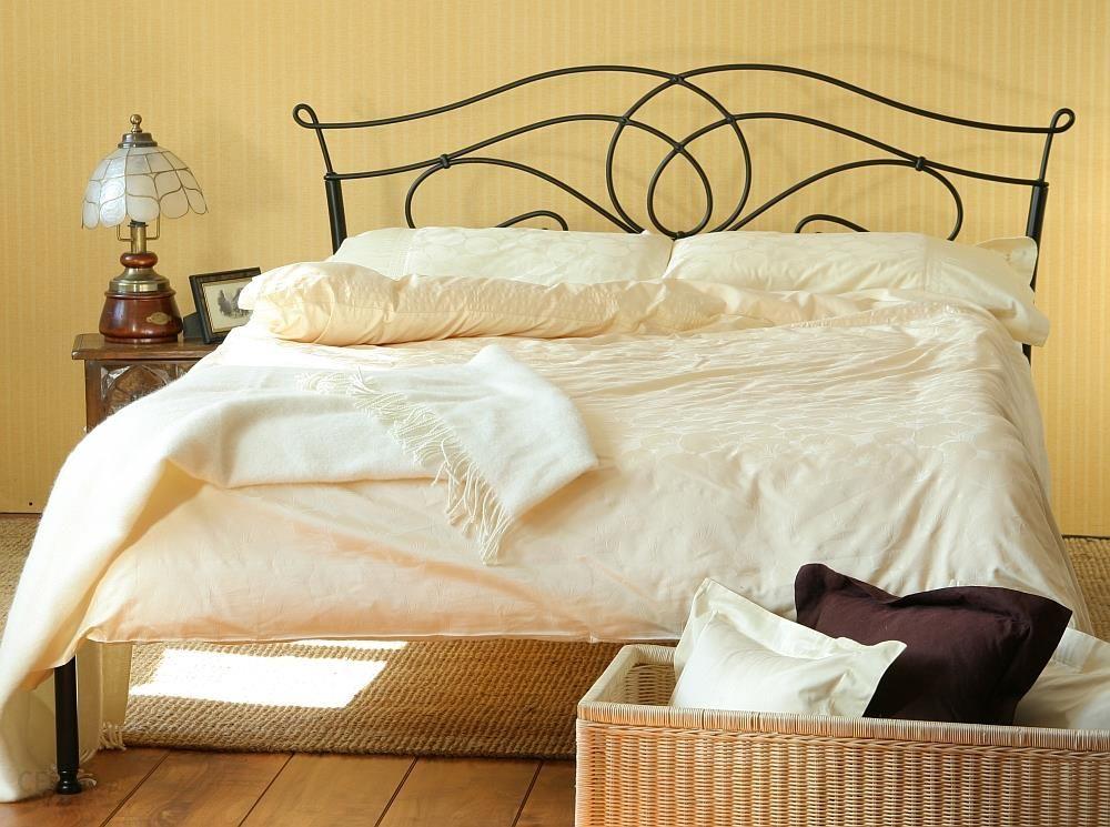 Artbed łóżko Metalowe Kute Iris 2 Jeden Szczyt