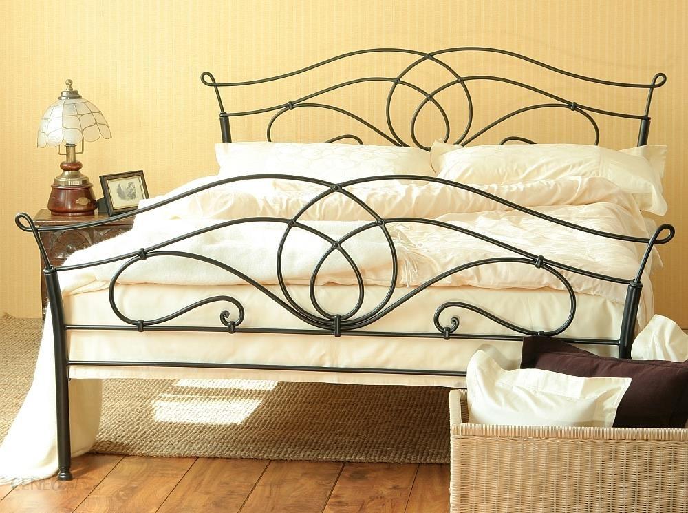 Artbed łóżko Metalowe Kute Iris 2 Dwa Szczyty