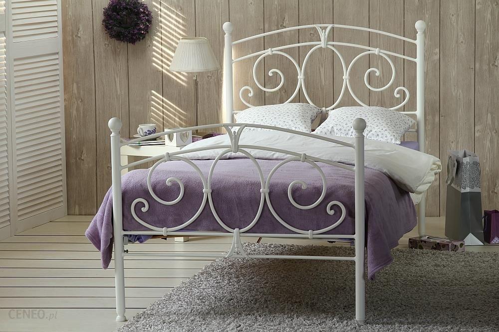 Artbed łóżko Metalowe Pojedyncze Sylvia Dwa Szczyty
