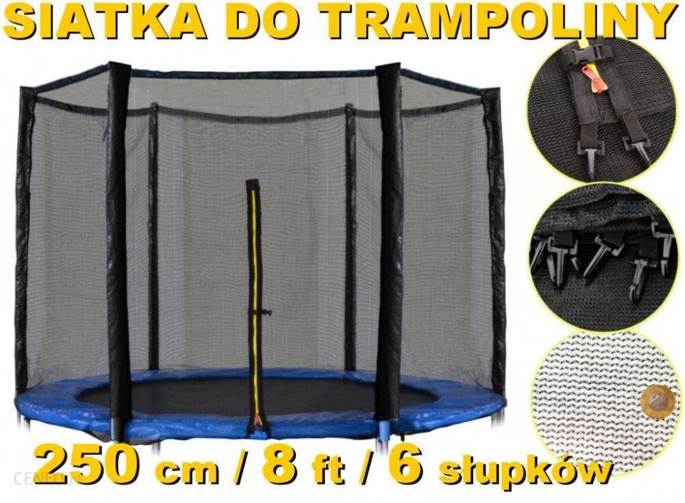 multistore zewn trzna siatka do trampoliny 244 250cm 8ft na 6 s upk w ceny i opinie. Black Bedroom Furniture Sets. Home Design Ideas