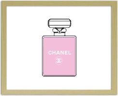 Chanel Perfumy 2 Obrazy W Ramie Naturalny Opinie I Atrakcyjne