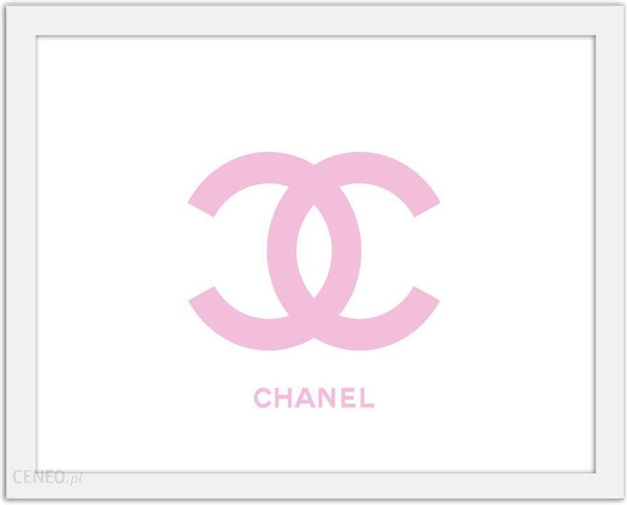 Chanel Logo Obrazy W Ramie Biały Opinie I Atrakcyjne Ceny Na