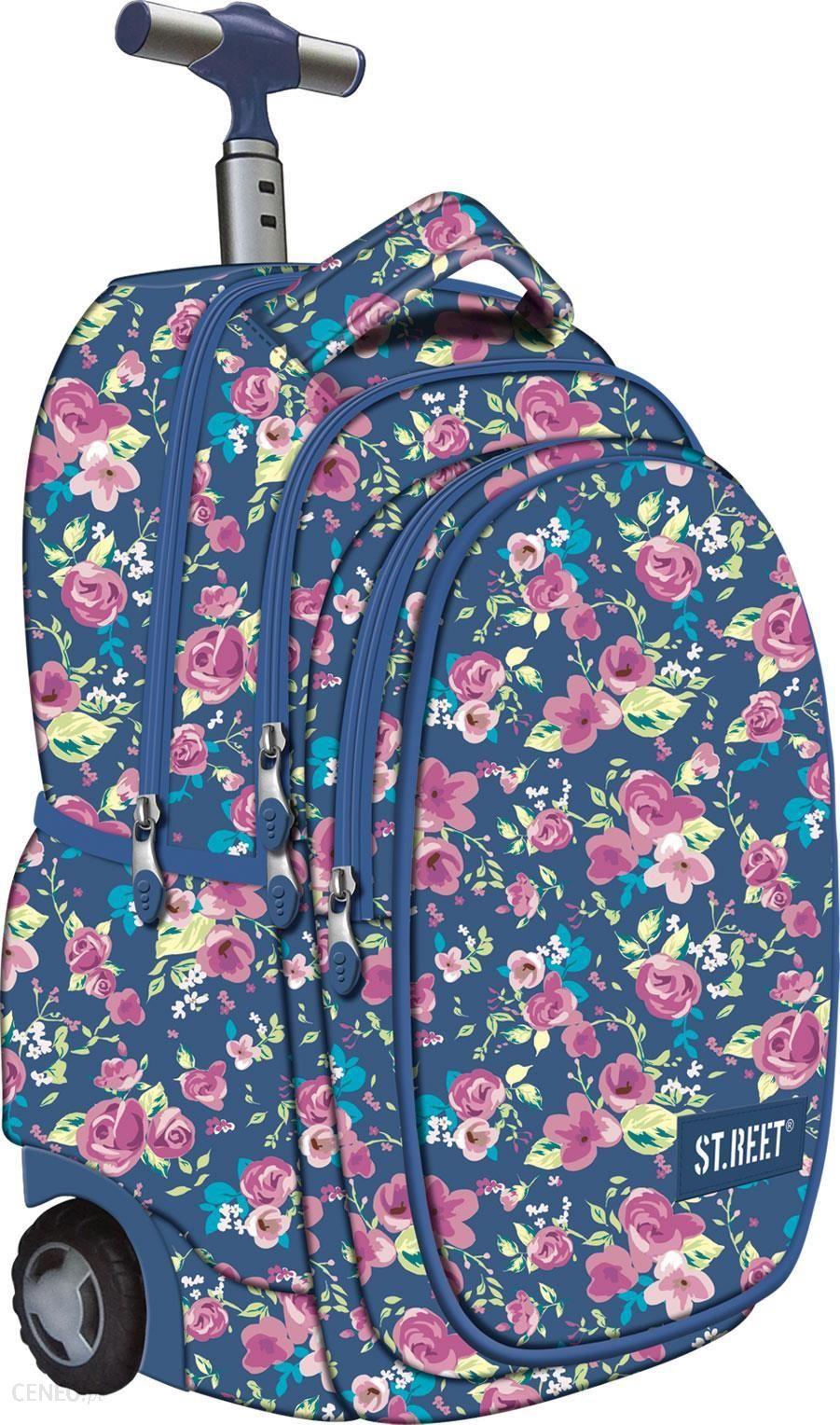 4ce64e354aaa5 St.Majewski ST.Reet Plecak na kółkach Flowers2 F3 - Ceny i opinie ...