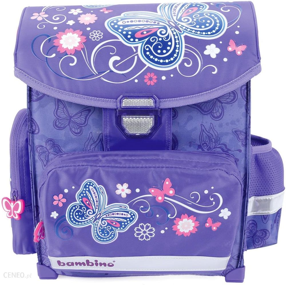 9c9b64d41e7e3 St.Majewski Tornister szkolny Bambino Butterfly 606694 - Ceny i ...