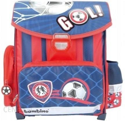 8e1d88f4049e5 St.Majewski Tornister szkolny Bambino Football 606687 - Ceny i ...