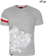 ed78b4c703af Surge Polonia Koszulka patriotyczna dziecięca Orzeł Sport Opaska (JASNY  MELANŻ)