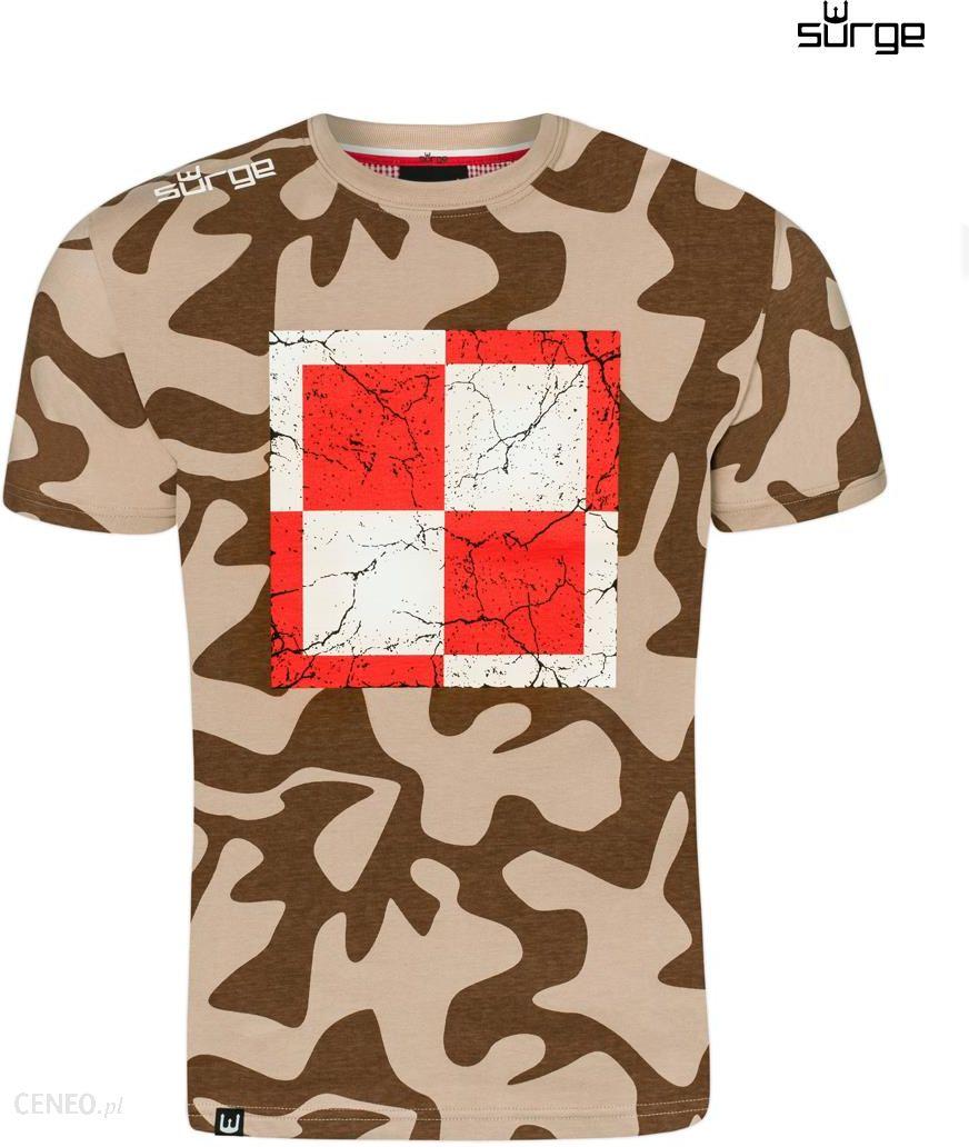 e61f5e6ed74ba2 Surge Polonia Koszulka patriotyczna Szachownica Lotnicza Duża (CAMO PFT) -  zdjęcie 1