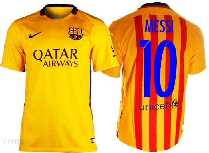 7b2b4796d Koszulka Meczowa Nike FC Barcelona AWAY MESSI - Ceny i opinie - Ceneo.pl