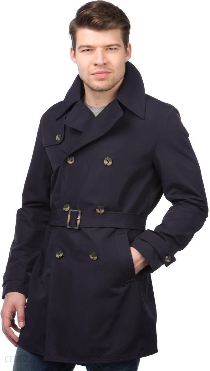 94db2538969a1 Geox płaszcz męski 50 ciemnoniebieski, BEZPŁATNY ODBIÓR: WARSZAWA, WROCŁAW,  KATOWICE, KRAKÓW