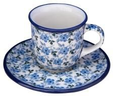 Ceramika Artystyczna Bolesławiec Filiżanka Do Espresso B102162