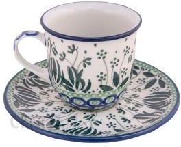 Ceramika Artystyczna Bolesławiec Filiżanka Do Herbaty Kawy 0 18 L