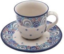 Ceramika Artystyczna Bolesławiec Filiżanka Do Espresso B102149