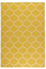 Ikea Stockholm Dywan Tkany Na Płasko Siatka żółty 10229035