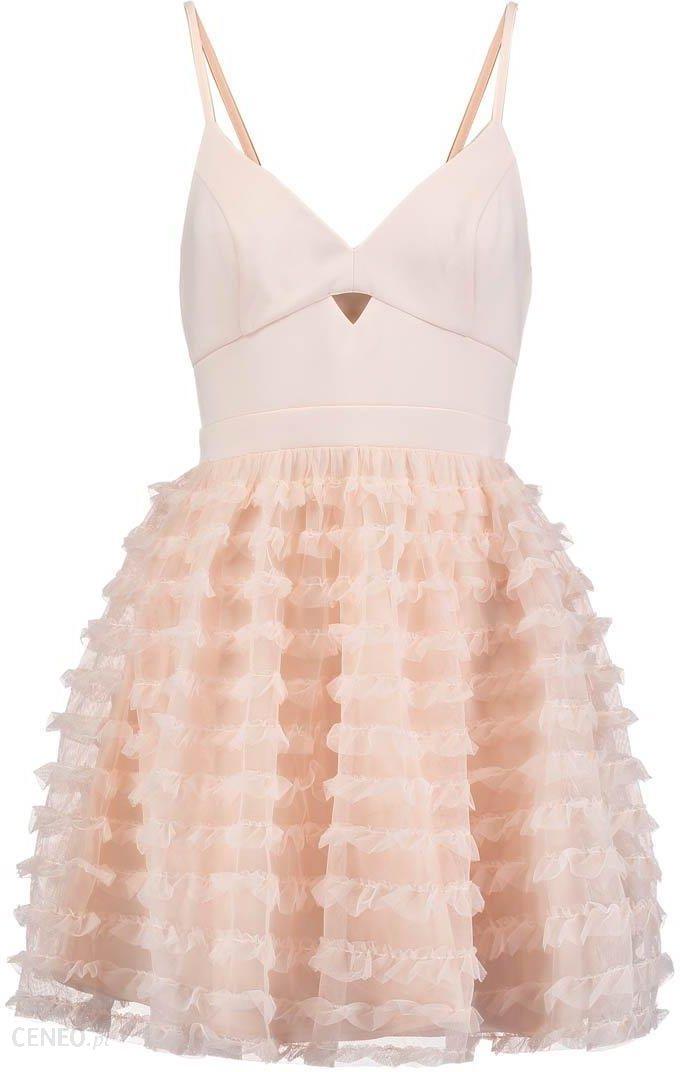 48245bbf9a Lipsy ARIANA GRANDE Sukienka koktajlowa nude - Ceny i opinie - Ceneo.pl