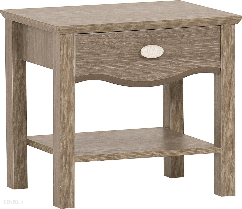 stylizowany stolik nocny z cicho wysuwan� szuflad� do