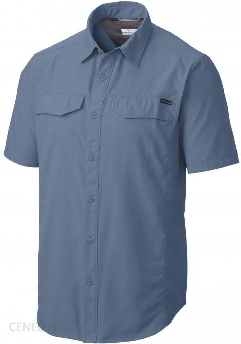 0c856cd79fc85 Koszula z krótkim rękawem Columbia Silver Ridge Short Sleeve Shirt Steel -  zdjęcie 1
