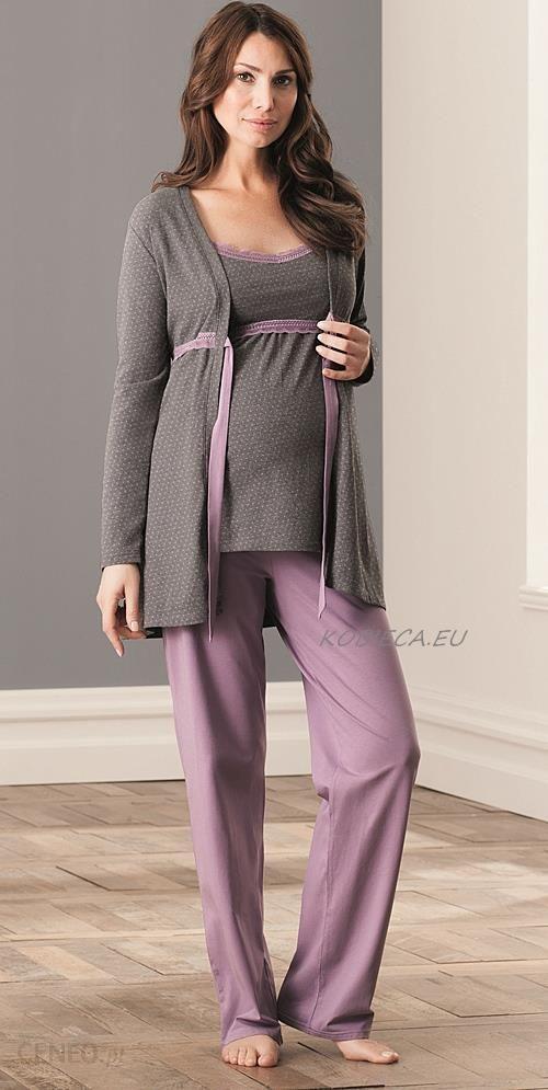 dc031bae komplet ciążowy i do karmienia Anita 1255 - piżama do karmienia Anita