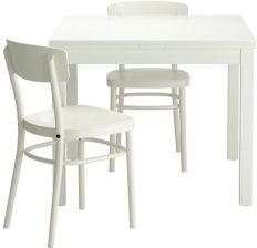 Ikea Bjursta Idolf Stół 2 Krzesła Biały 29932077 Opinie I