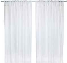 Ikea Teresia Firanki 2 Szt Biały 50232333