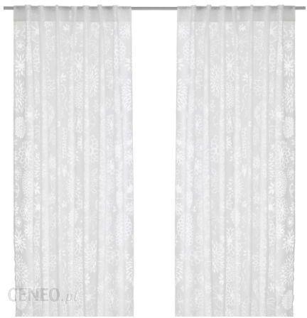 Ikea Renate Ljuv Firanki 2 Szt Biały 80173860
