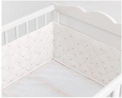 Ikea Himmelsk Ochraniacz Do łóżeczka Biały Szary 90319701