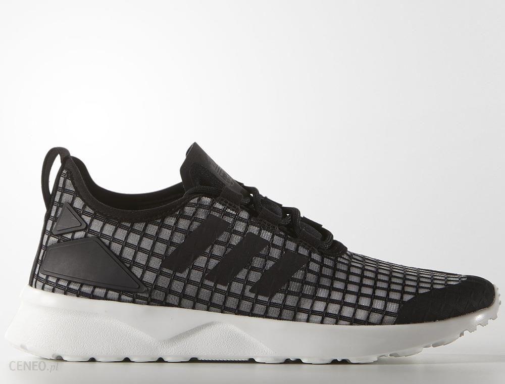 Adidas Buty damskie Originals ZX Flux ADV Smooth czarno różowe r. 40 (S82937)