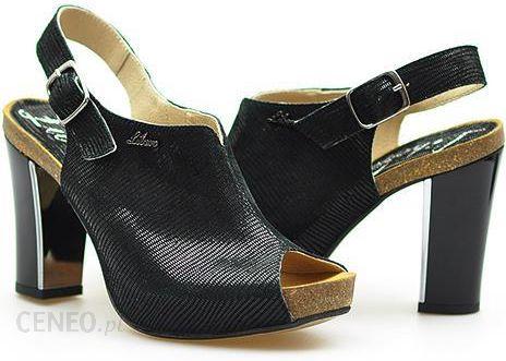 libero sandały czarne