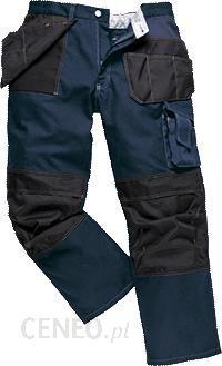 7728c4b703276f Portwest Spodnie Robocze Z Mocnej Tkaniny Buidtex Bp52 - Navy (Bp52Dnrs) -  zdjęcie 1