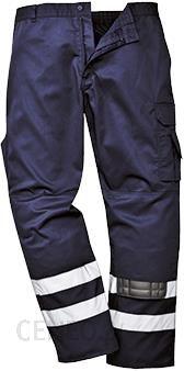3591de011c9564 Portwest Spodnie Robocze Bojówki Odblaskowe S917 - Navy (S917Narxs) -  zdjęcie 1