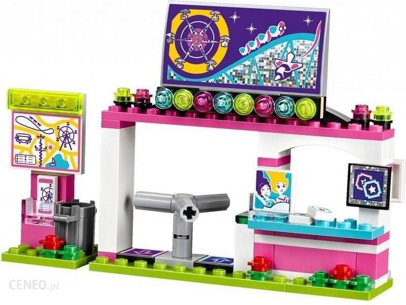 Klocki Lego Friends Kolejka Górska W Parku Rozrywki 41130 Ceny I