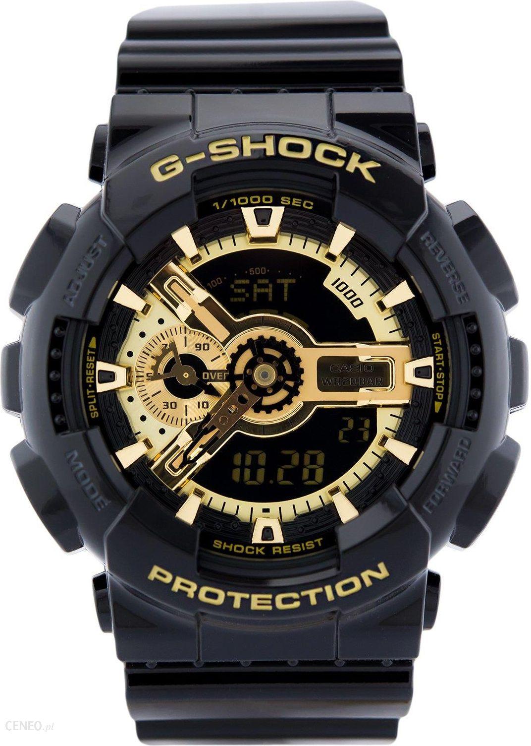 cb9a7d3f612d45 Casio G-Shock GA-110GB-1AER - Zegarki Męskie - Ceny i opinie - Ceneo.pl