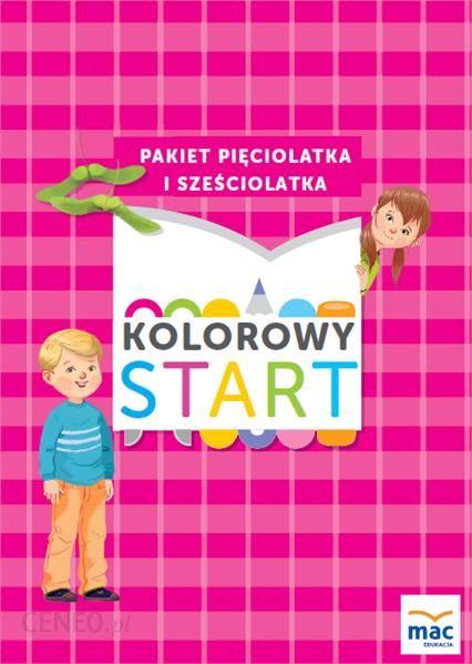 Podrecznik Szkolny Kolorowy Start 5 I 6 Latki Ceny I Opinie Ceneo Pl