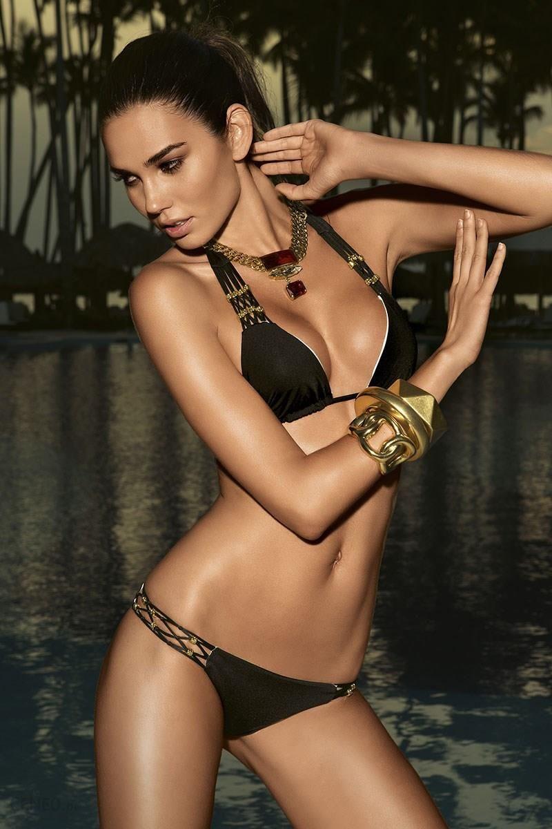b631cfb212192e Vacanze Luksusowy dwuczęściowy kostium kąpielowy Diamond czarny XS -  zdjęcie 1