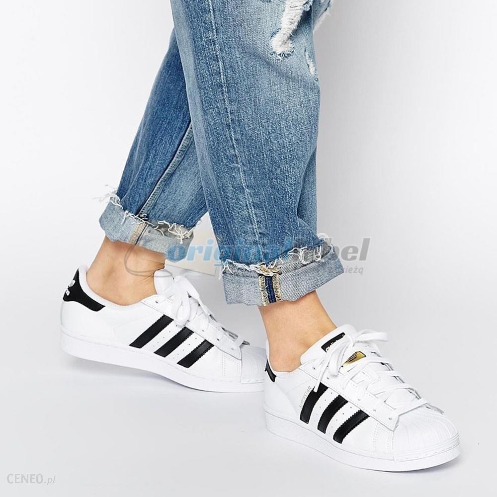 Buty dziecięce adidas Superstar J C77154 r. 37 13 Ceny i opinie Ceneo.pl