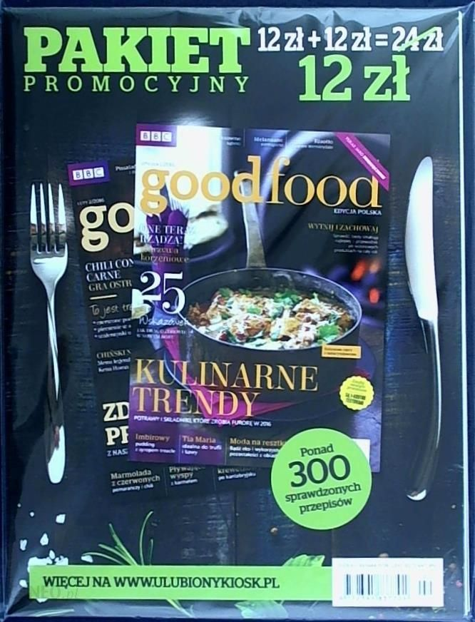Pakiet Good Food Ceny I Opinie Ceneopl