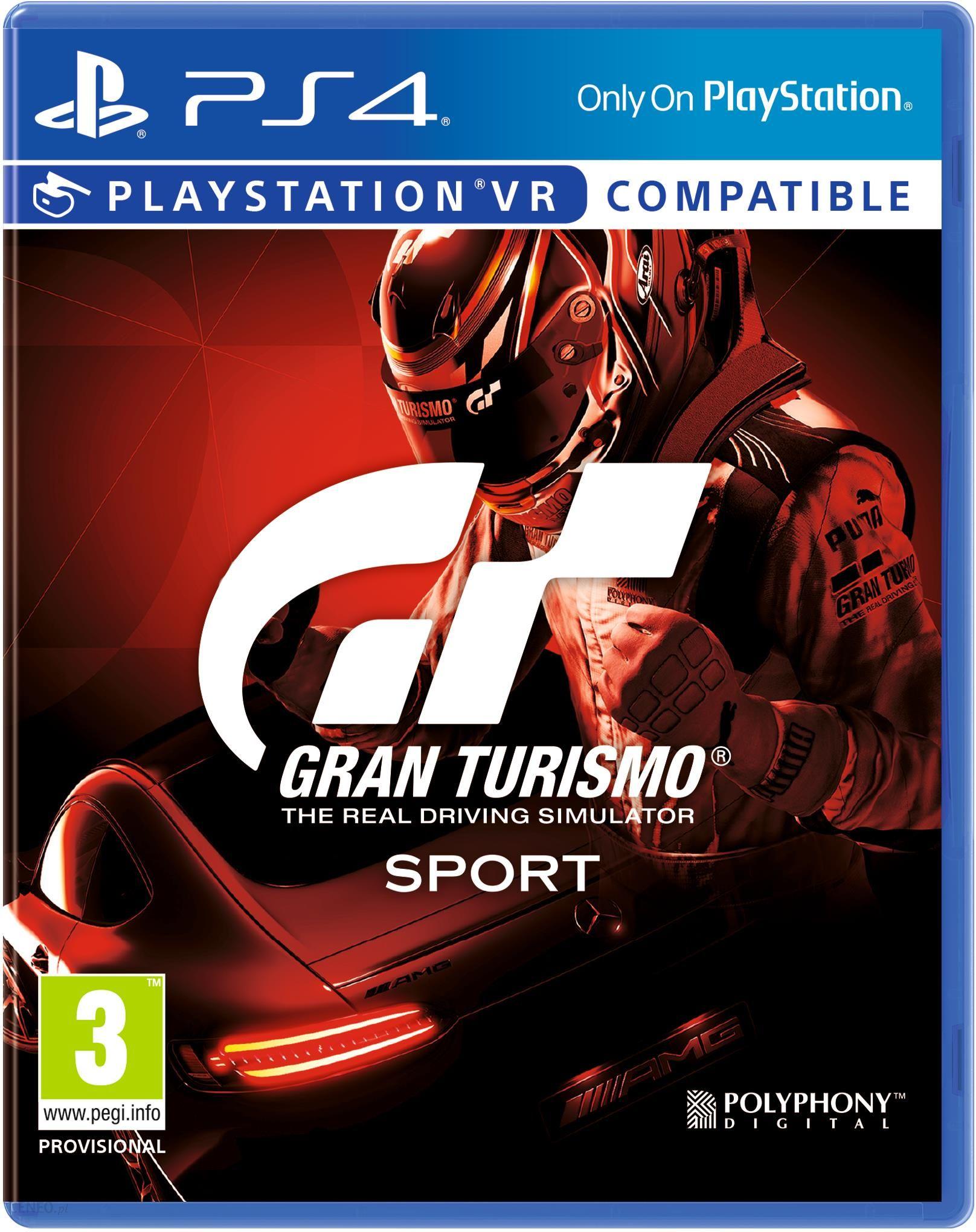 Gran Turismo Sport Gra Ps4 Ceny I Opinie Ceneo Pl