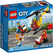 Klocki Lego City Lotnisko Zestaw Startowy 60100 Ceny I Opinie