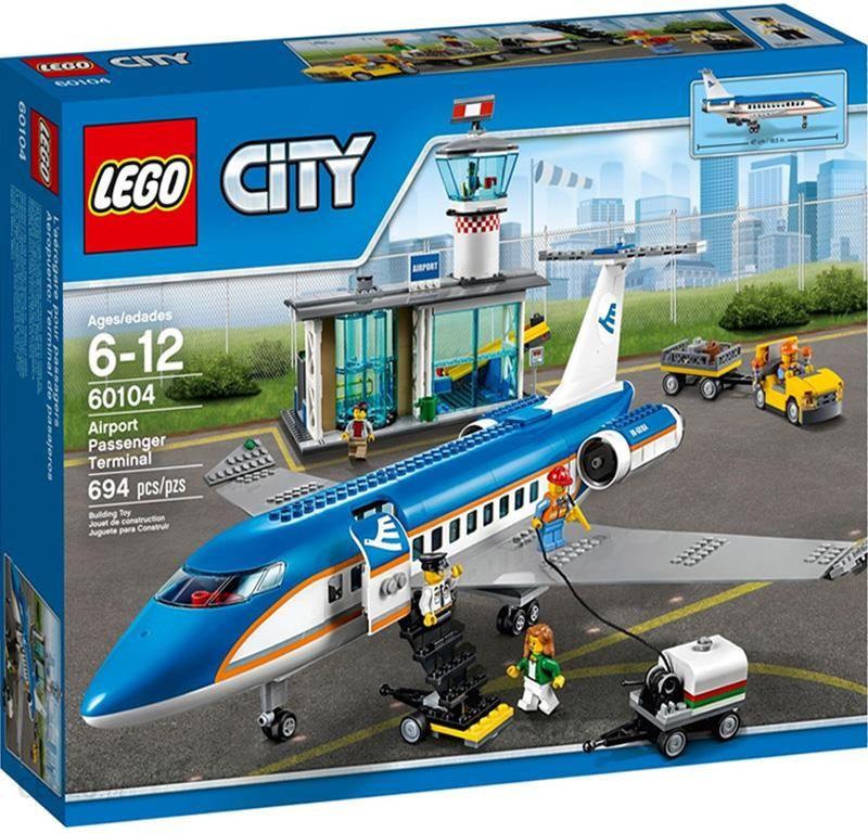 Klocki Lego City Lotnisko Terminal Pasażerski 60104 żywiec Sklepy