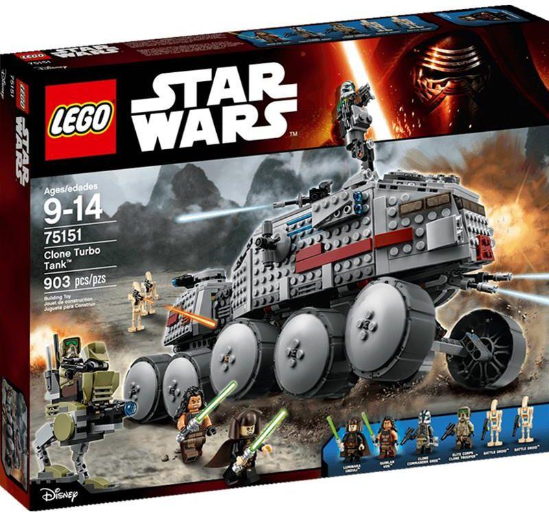 Klocki Lego Star Wars Turboczołg Klonów 75151 Ceny I Opinie Ceneopl